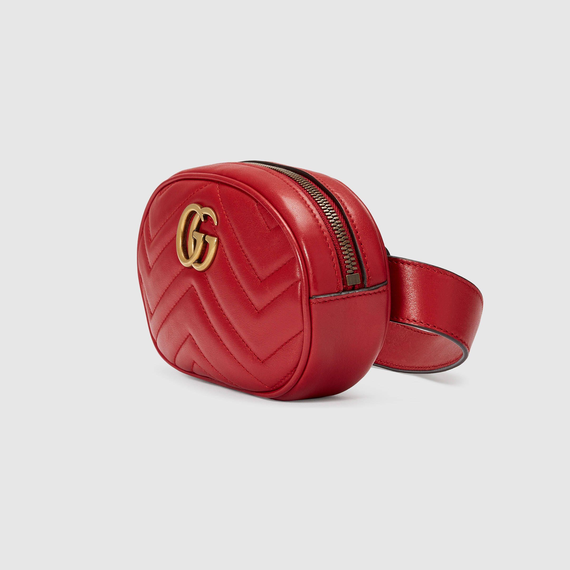 af656167226c GG Marmont matelassé leather belt bag | closet wish list | Leather ...
