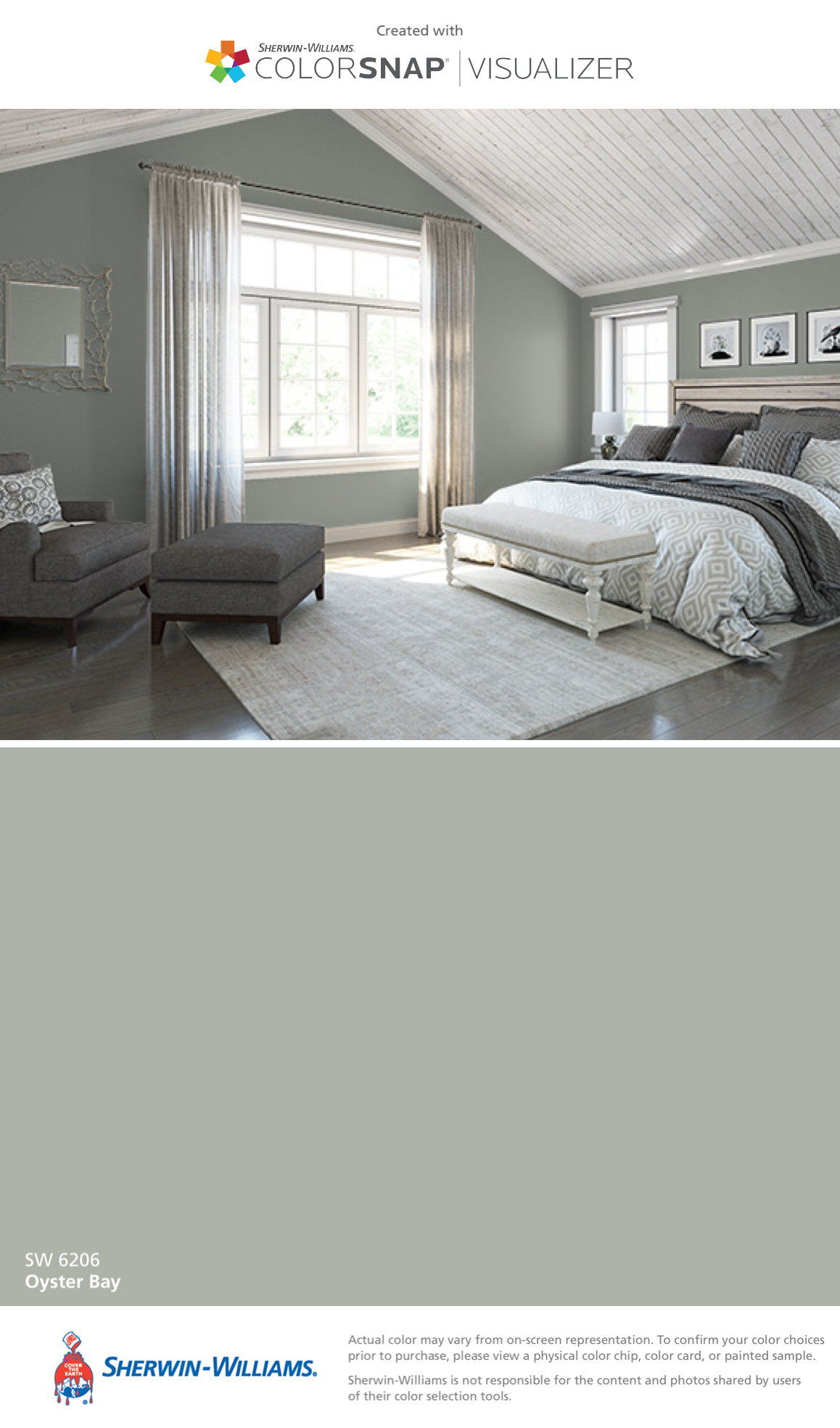 I Found This Color With Colorsnap Visualizer For Iphone By Sherwin Williams Oyster