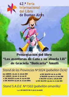 boticaria-graciela: Firmando en la 42° Feria Internacional del Libro d...