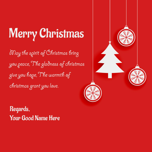 Merry Christmas Greeting Card Sayings With Best Regards