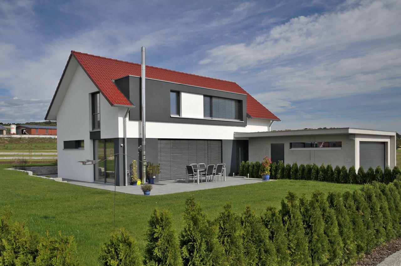 dachgaube architektur und h user pinterest gaube dachboden und einfamilienhaus. Black Bedroom Furniture Sets. Home Design Ideas