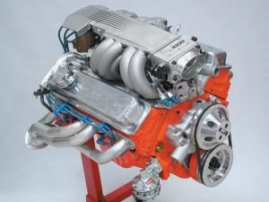 This Chevrolet L98 TPI engine has its displacement stroked