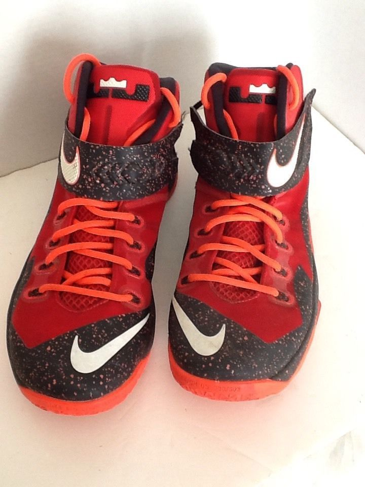 new style 379ff 134a2 Nike Zoom Lebron Soldier VIII University Red Basketball 688579-616 US 13 UK  12  Nike  AthleticSneakers
