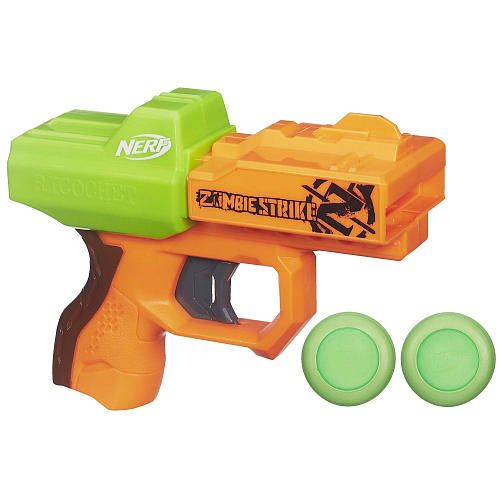 NERF Zombie Strike Ricochet Blaster - Hasbro - Toys