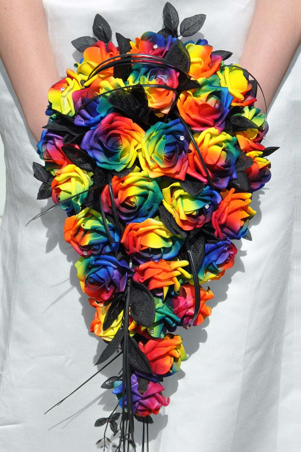 Artificial Wedding Flowers For Your Big Day Rainbow Wedding