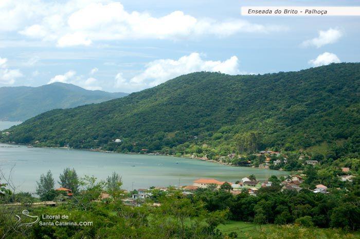 Enseada Do Brito Palhoca Sc Praias Brasileiras Rio Grande