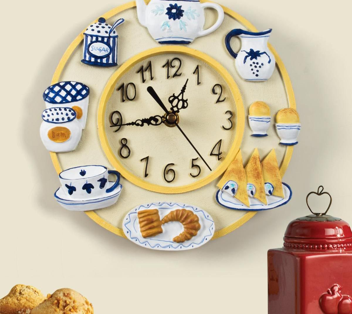 Decorative Kitchen Wall Clocks Kitchen Wall Clocks Wall Clock Clock