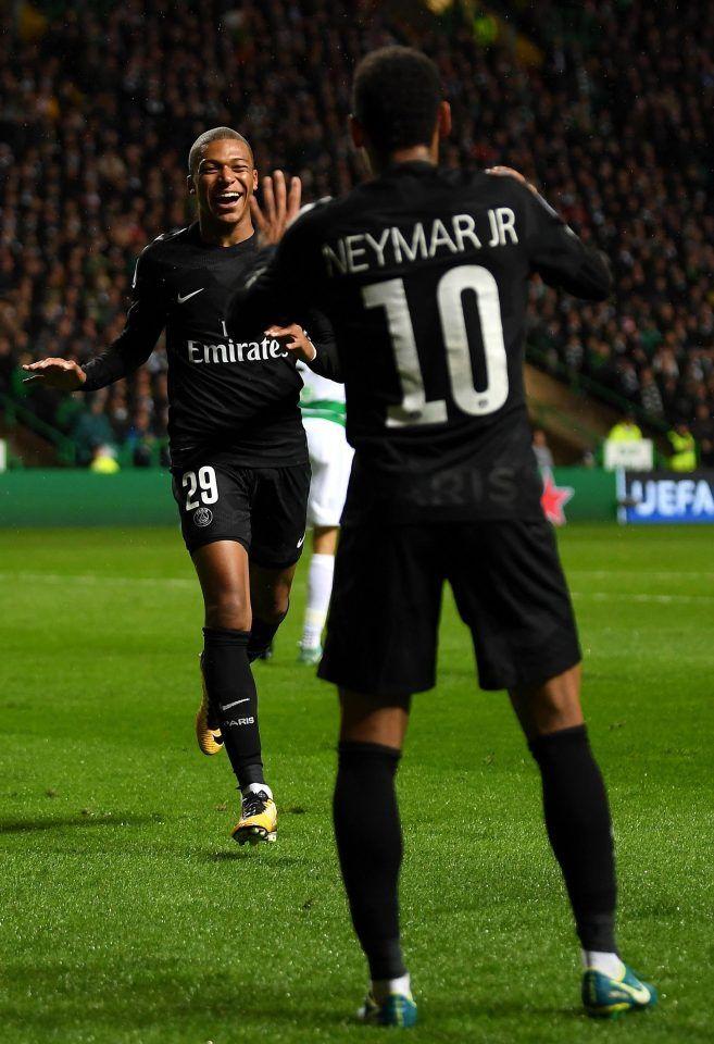 Mbappe Neymar PSG   Football.Beautiful   Pinterest   Football, Champions league and Soccer