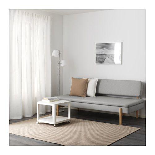 YPPERLIG 3-seat sleeper sofa, Orrsta light gray | Nick\'s Couch | 3 ...