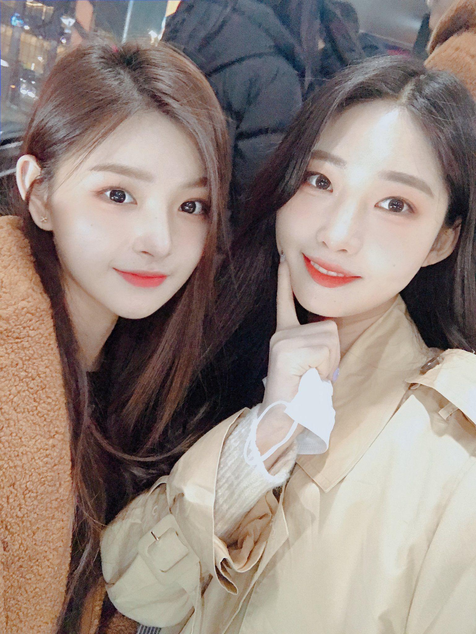 시현 SIHYEON & YIREN 이렌 Kpop girls, Girl group, Kpop