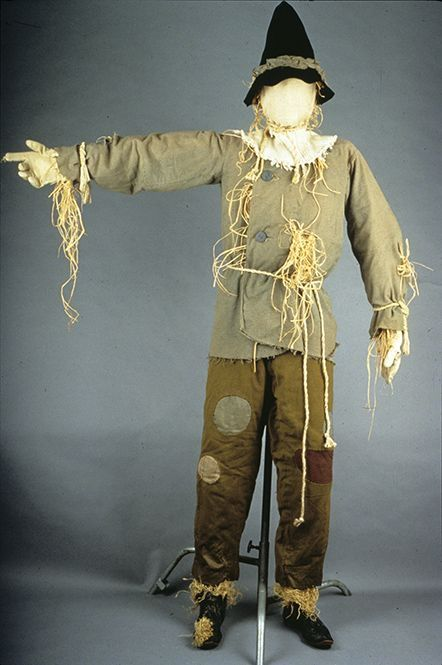 Ray Bolger's Original Scarecrow Costume from The Wizard of Oz (1939)