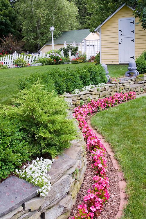 Tier Landscaping Ideas Two Level Landscaping