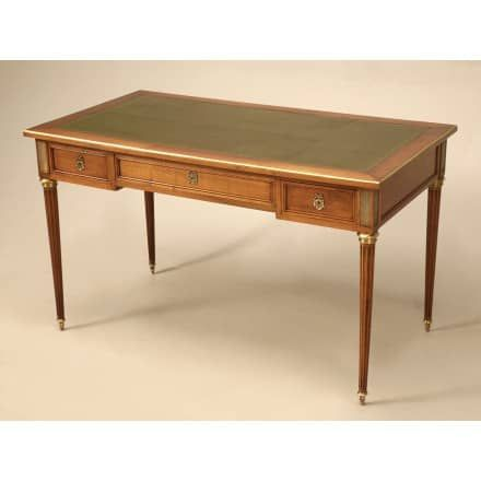 french antique cherry louis xvi style desk old plank antiques