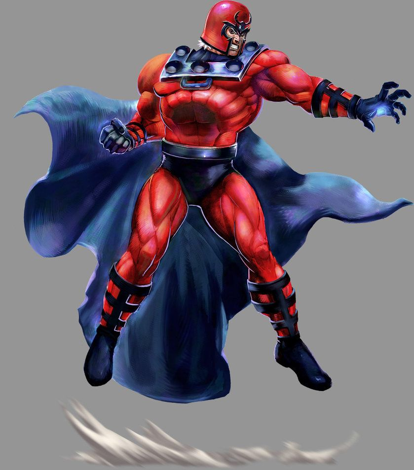 Marvel VS Capcom 2: Magneto