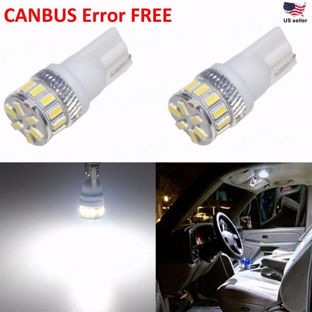 Jdm Astar 194 168 2825 175 T10 Super White Error Free 3014 20 Smd Led Light Bulb Led Light Bulb Automotive Led Lights Led Replacement Bulbs