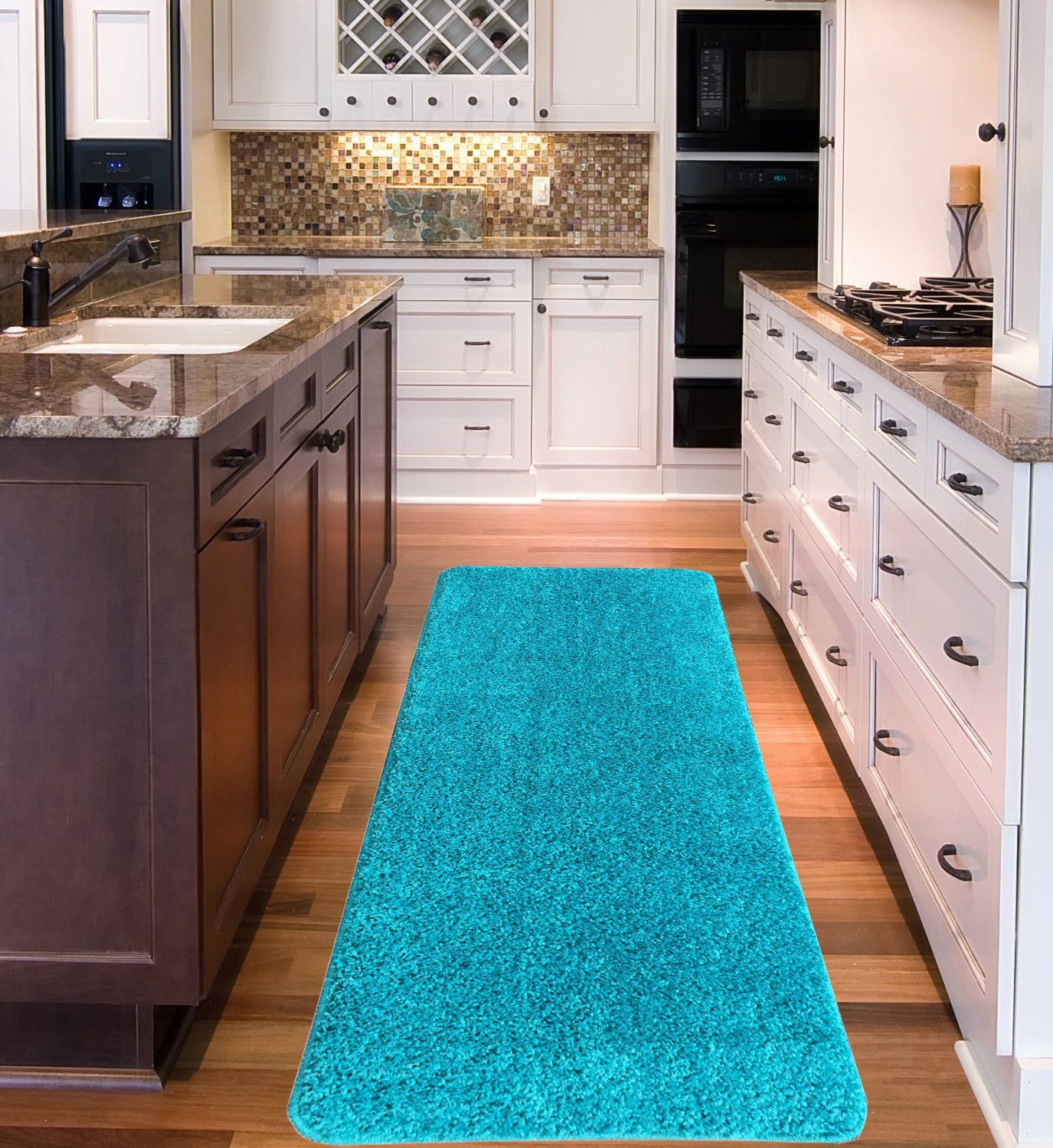 Kitchen Rubber Backed Carpet Runners By The Foot Non Skid