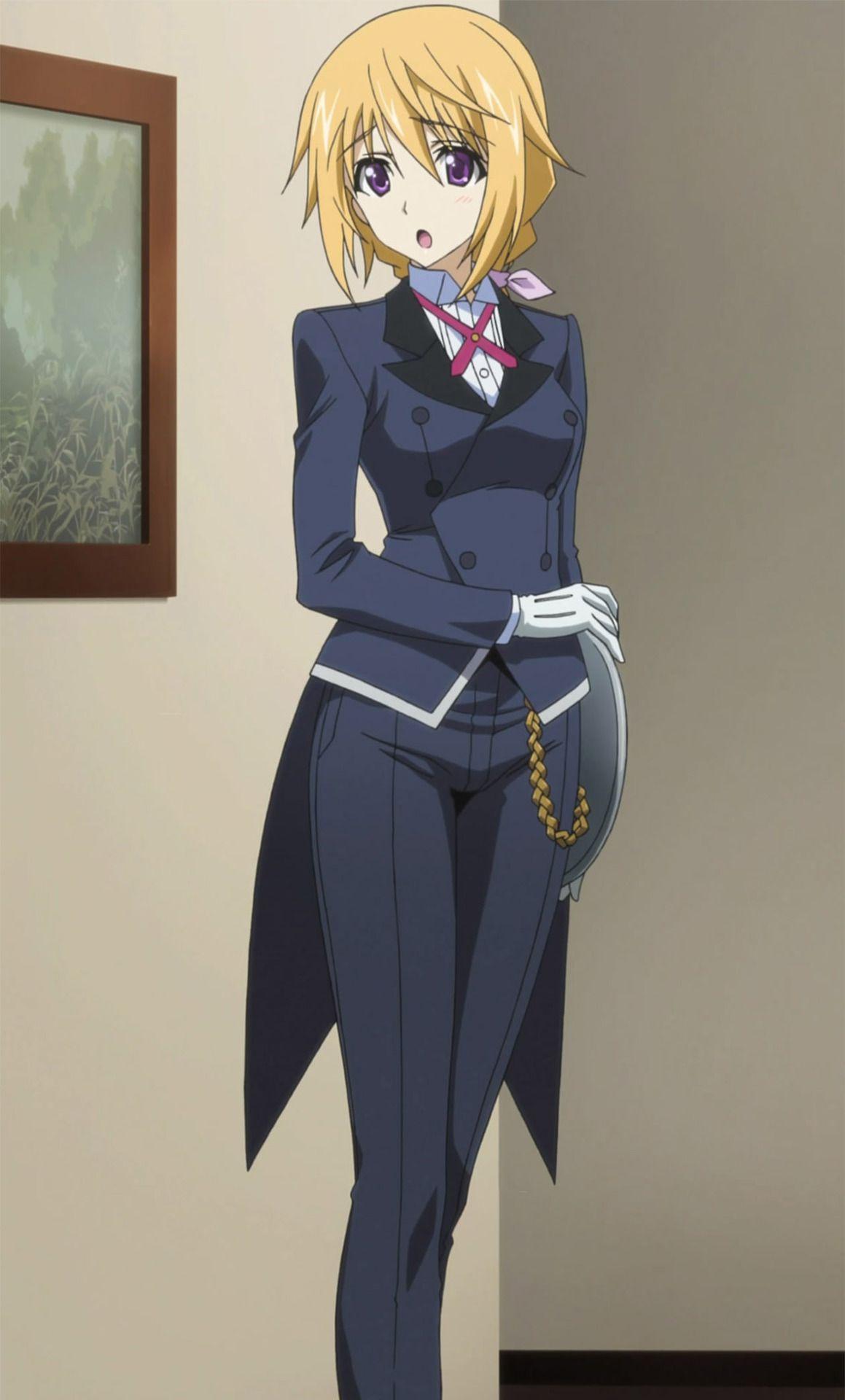 Butler anime 萌えキャラ, インフィニット, アニメ