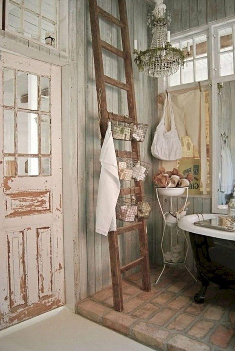 Photo of 50+ Interesting Shabby Chic Bathroom Decor Ideas