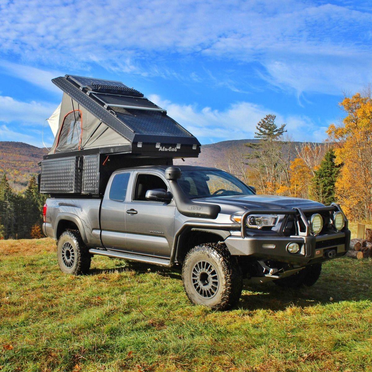Alucab Khaya prime camper Slide in camper