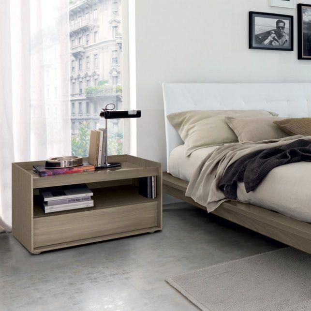 Mesa de noche / rectangular / de interior / moderna - COMPLEMENTS ...