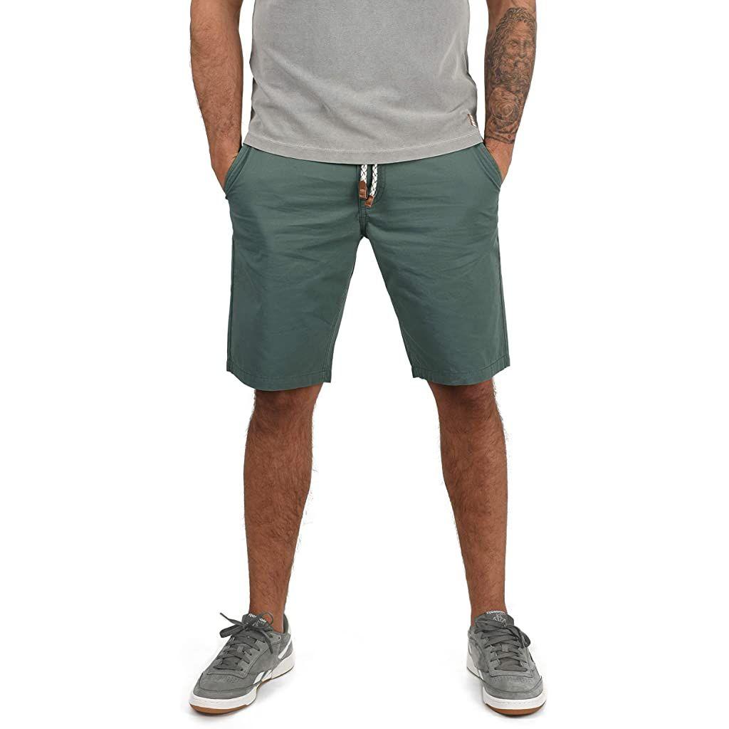 Blend Ragna Herren Chino Shorts Bermuda Kurze Hose mit Kordel-G/ürtel Regular Fit
