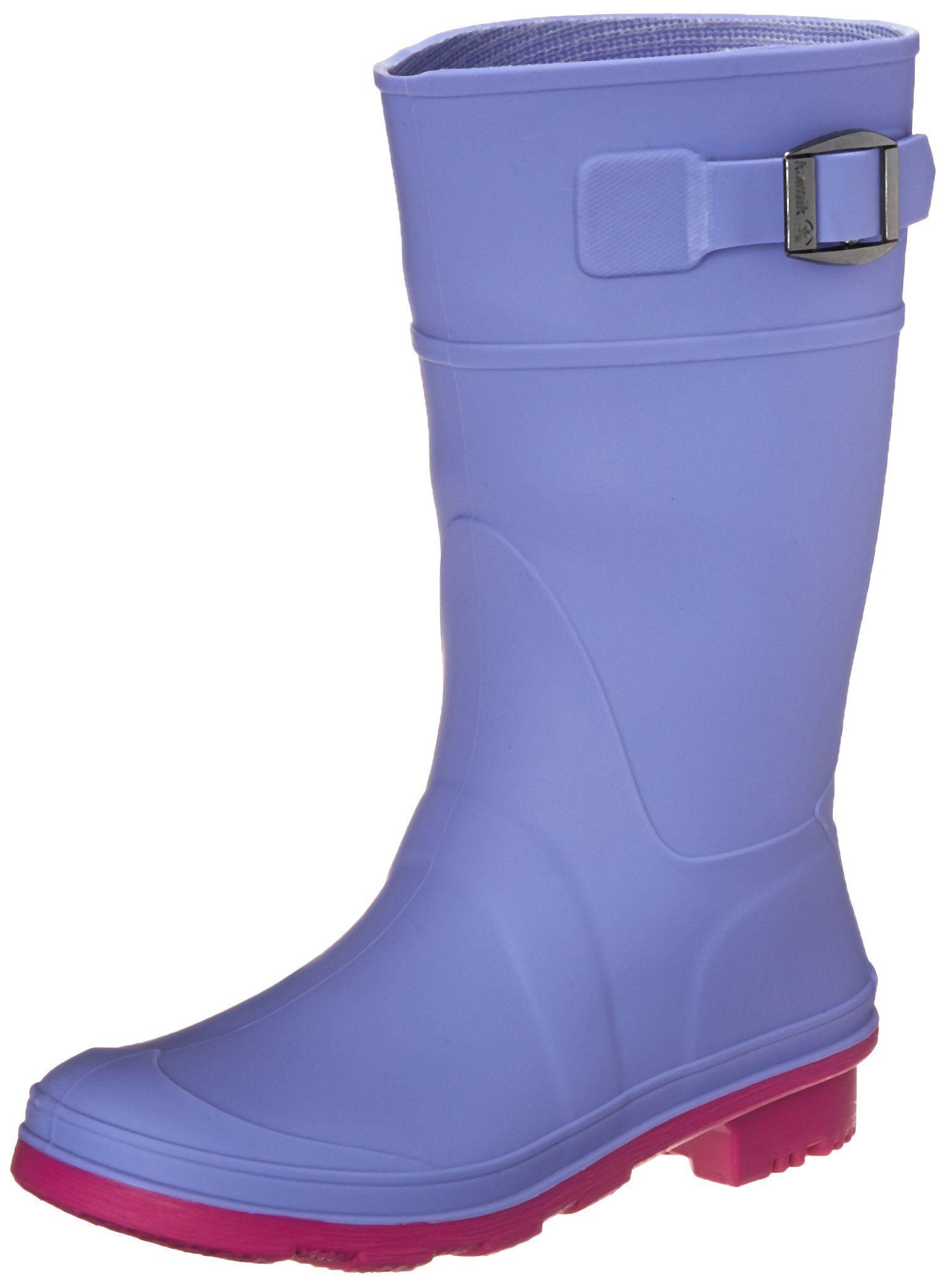 Kamik Kids Raindrops Rain Boot