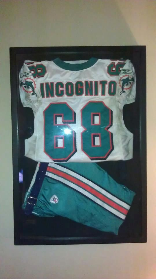 timeless design 5292e 483ca Richie Incognito Miami Dolphins game used jersey and pants ...