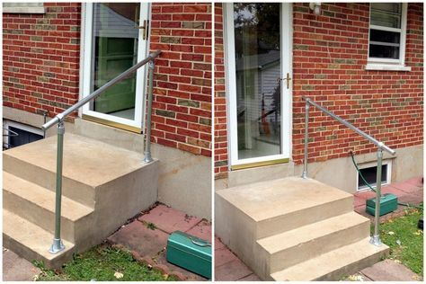 Best Pictures Of Handrails On Steps Outside Easy To Install 400 x 300