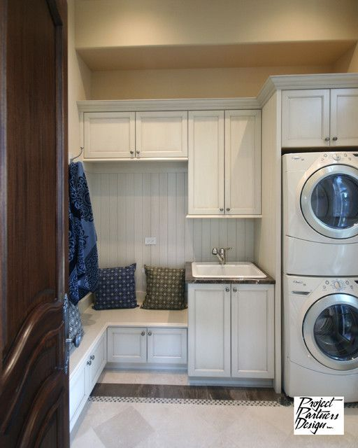traditional - laundry room/mudroom - Project Partners Design, Inc.