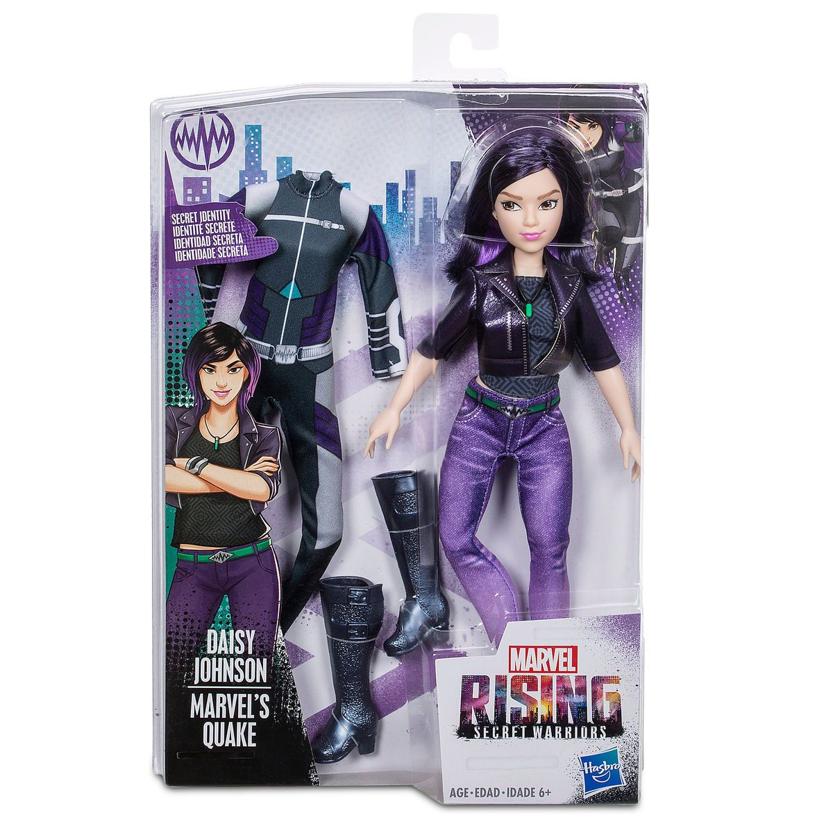 1296b387acda4 Quake Doll - Marvel Rising | doll browsing | Quake marvel, Daisy ...