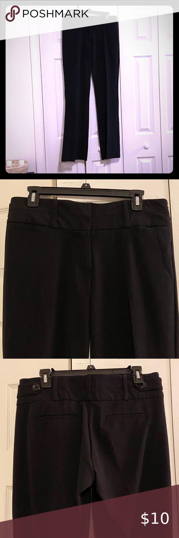 Memoir Women S Dress Pants Black Size 9 Dress Pants Trouser Pants Women Black Pants [ 1740 x 580 Pixel ]