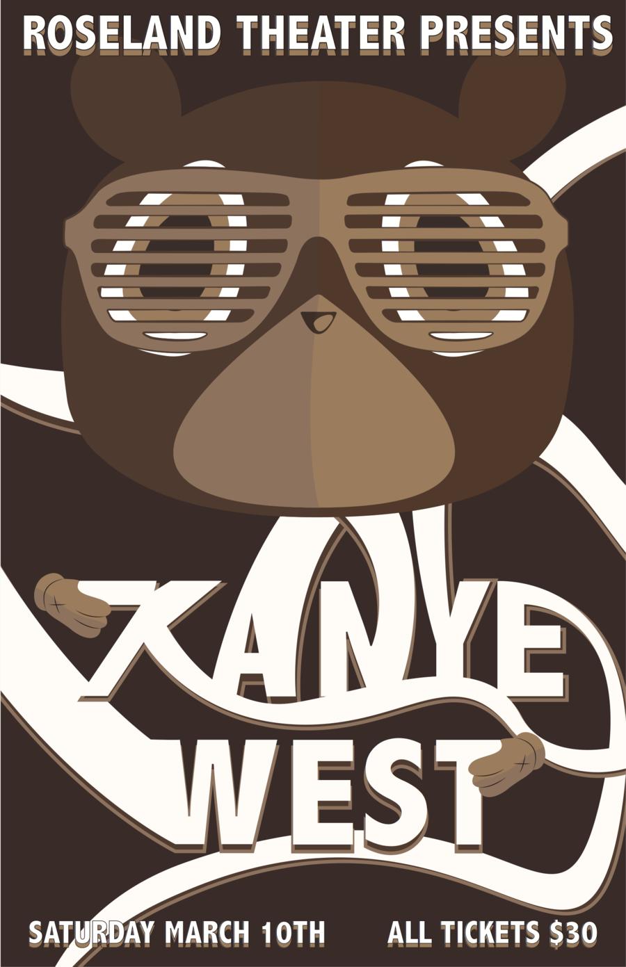 kanye west concert posters pinterest concert posters