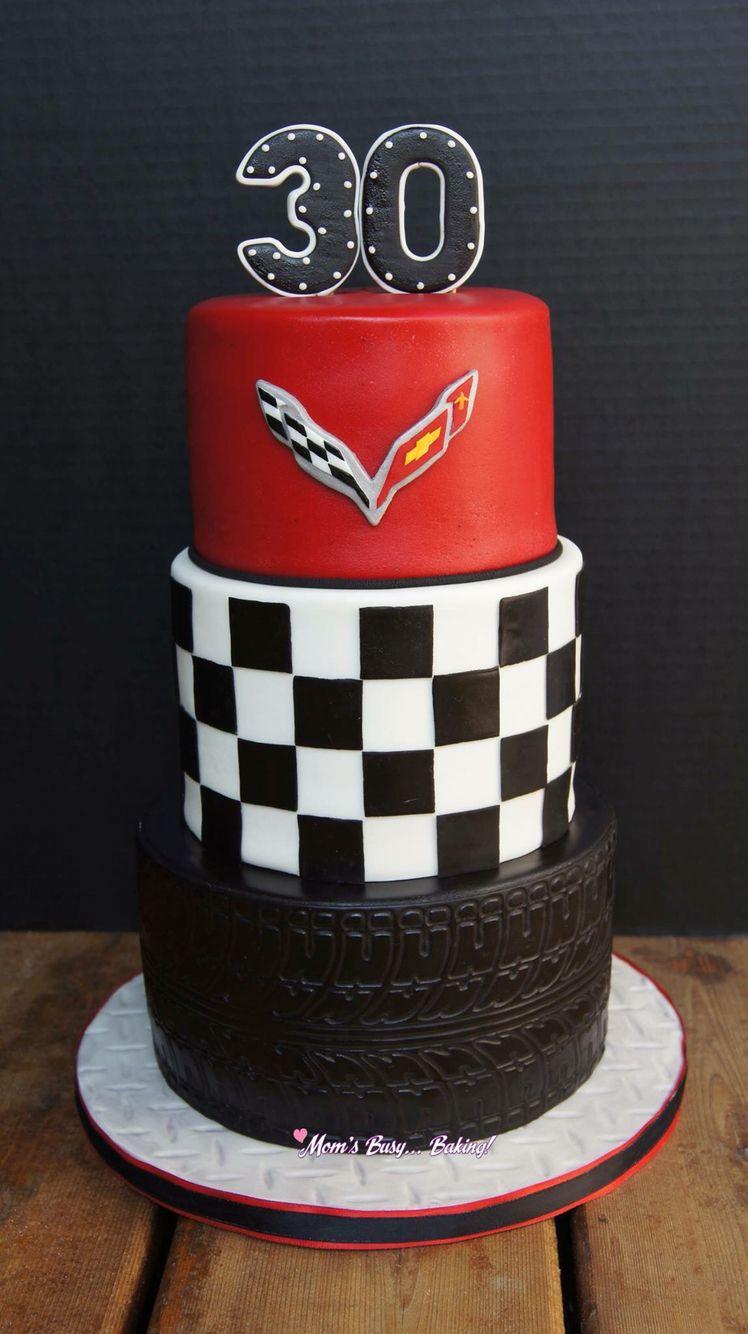 Corvette cake Cakes and things Iv made Pinterest Corvette