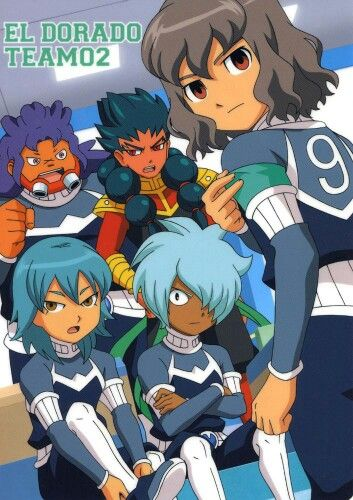 Inazuma Eleven Go Anime Guys Chibi Anime