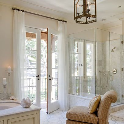 Bathroom Exterior Double Doors Design, Pictures, Remodel, Decor and