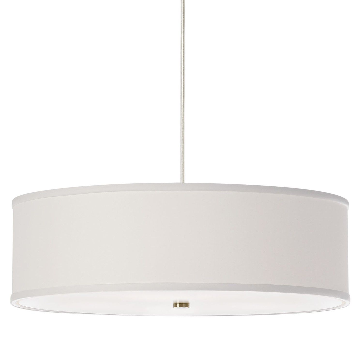 Simply Beautiful, The Mulberry Pendant Is A Classic Drum Pendant Light.