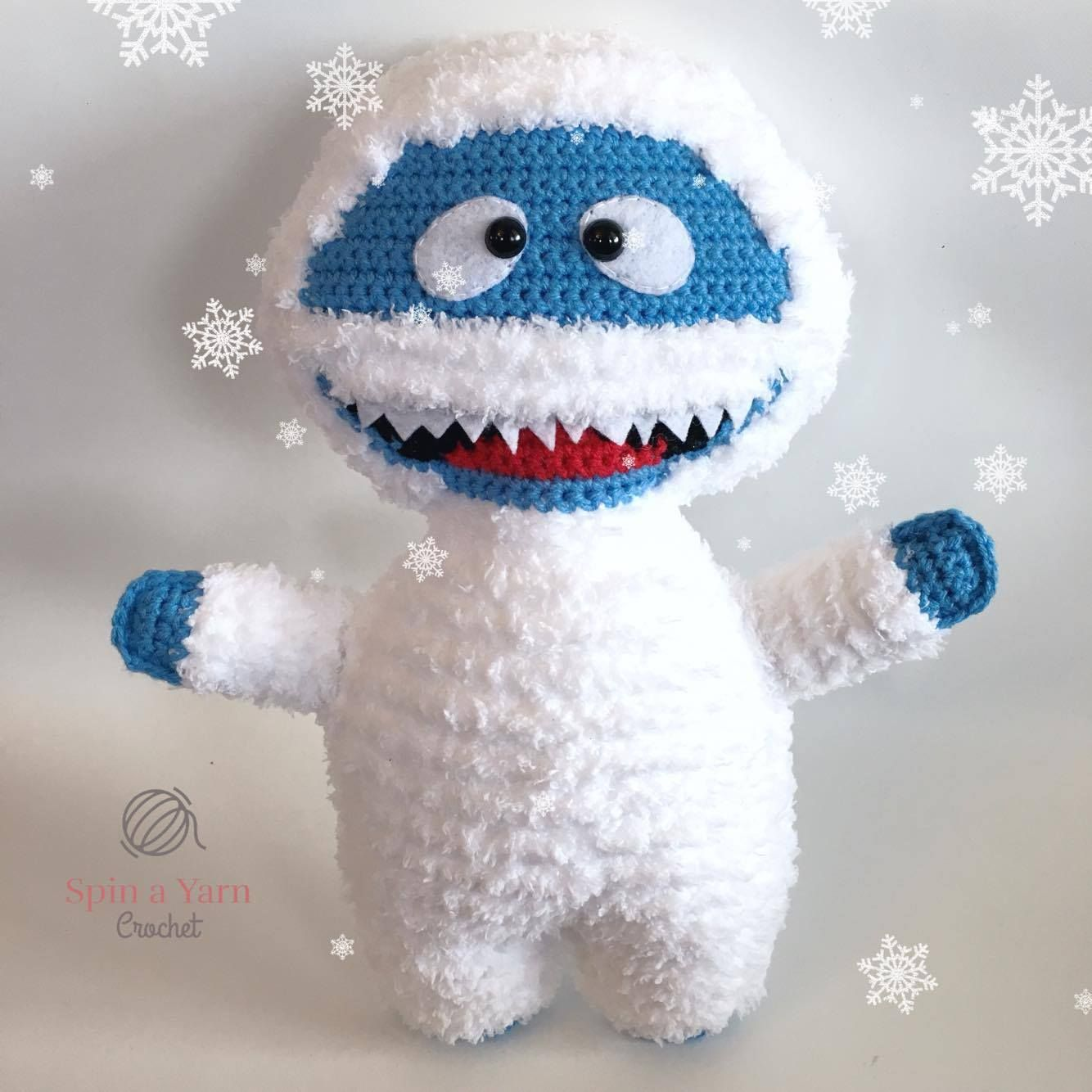 Bumble the Abominable Snowman - Free Crochet Pattern at Spin a Yarn ...
