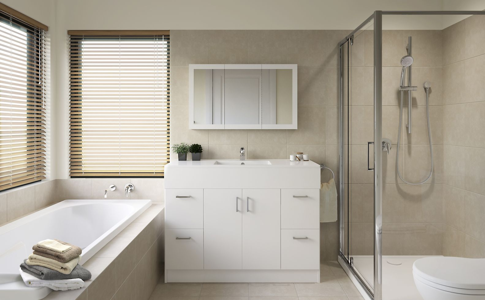 Bathroom Inspiration harmony - bathroom inspiration package at bunnings warehouse