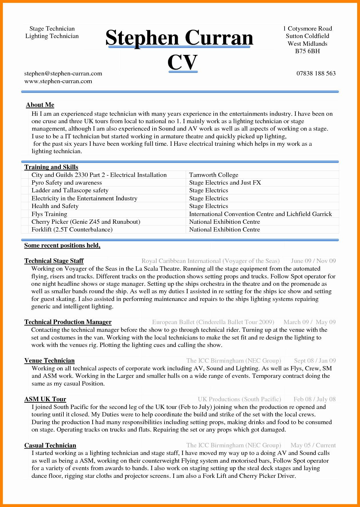Curriculum Vitae Template Word Lovely 6 Curriculum Vitae In Ms Word Best Resume Template Resume Template Word Curriculum Vitae Template