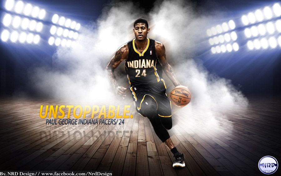 New wallpaper of paul george made for start of 201314 nba season new wallpaper of paul george made for start of 201314 nba season voltagebd Choice Image