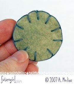 Tutorial: Hand Sew Felt Using Blanket Stitch