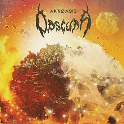 I just used Shazam to discover Ode To The Sun by Obscura. http://shz.am/t294296363