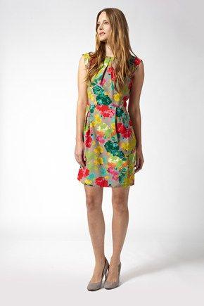 Artist's Roses Tunic Dress