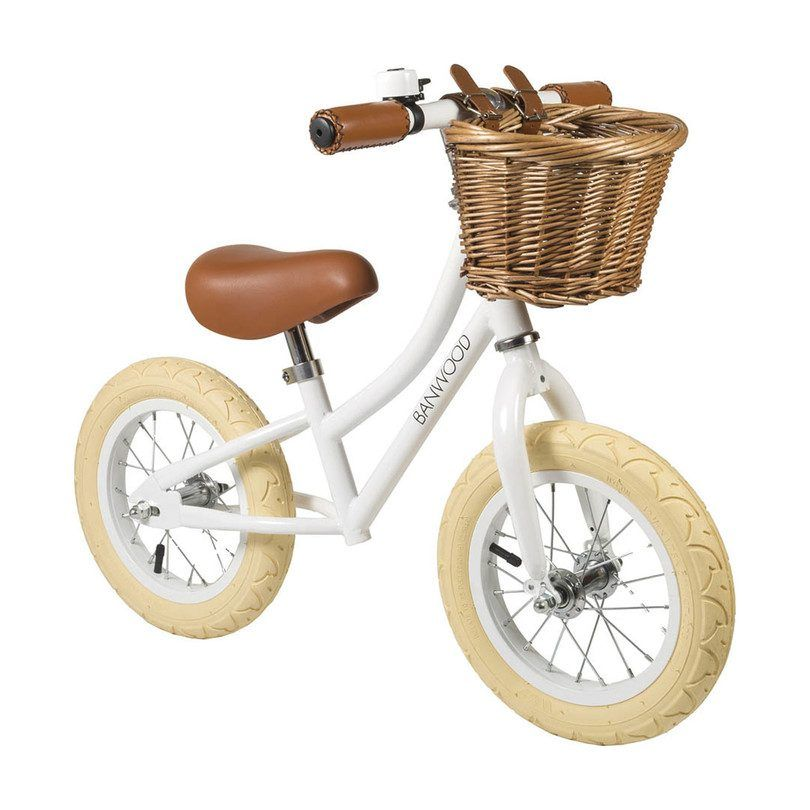 Banwood First Go Scoot Bike White Balance Bike Kids Bike