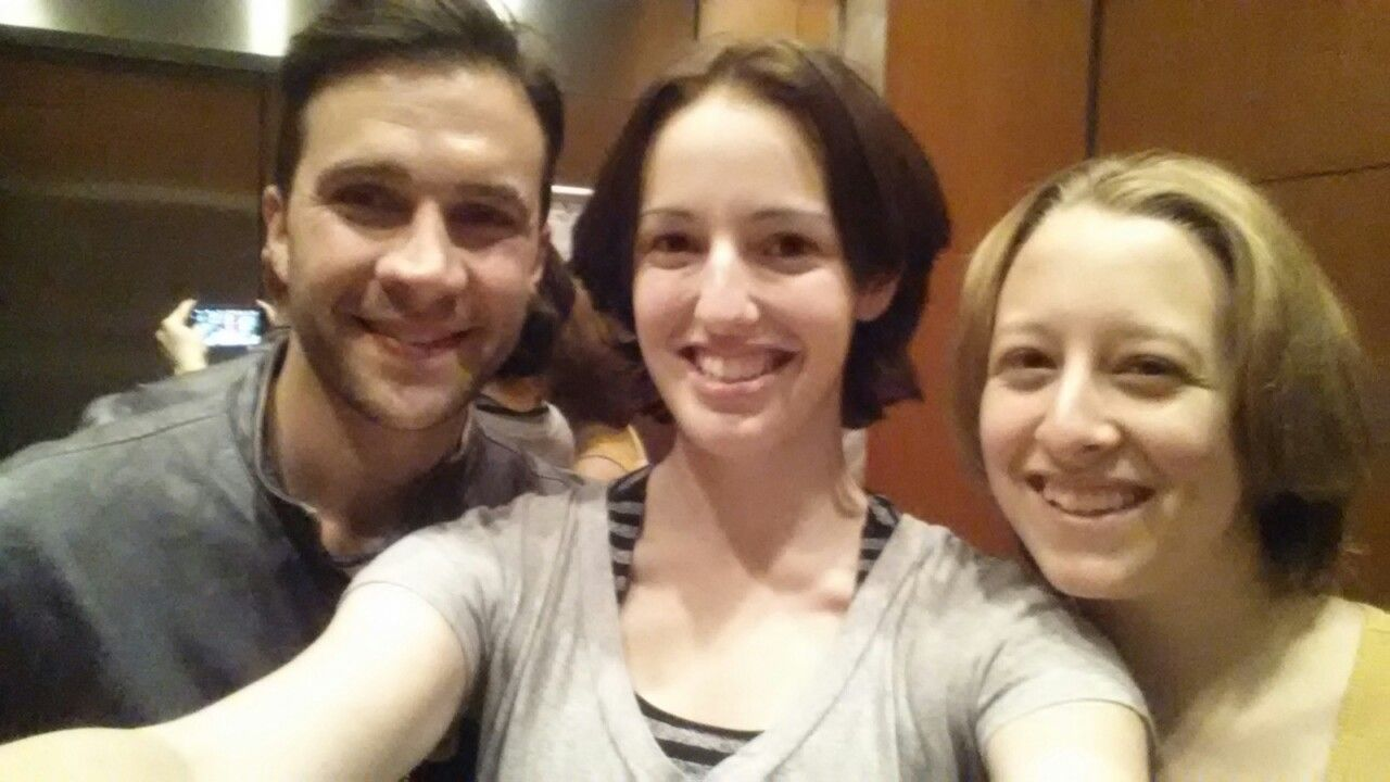 #DCCon2014 GIL WAS IN OUR ELEVATOR I AM STILL SHAKING