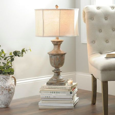Kirklands Table Lamps Weathered Seaboard Table Lamp  Kirklands  Living Area  Pinterest
