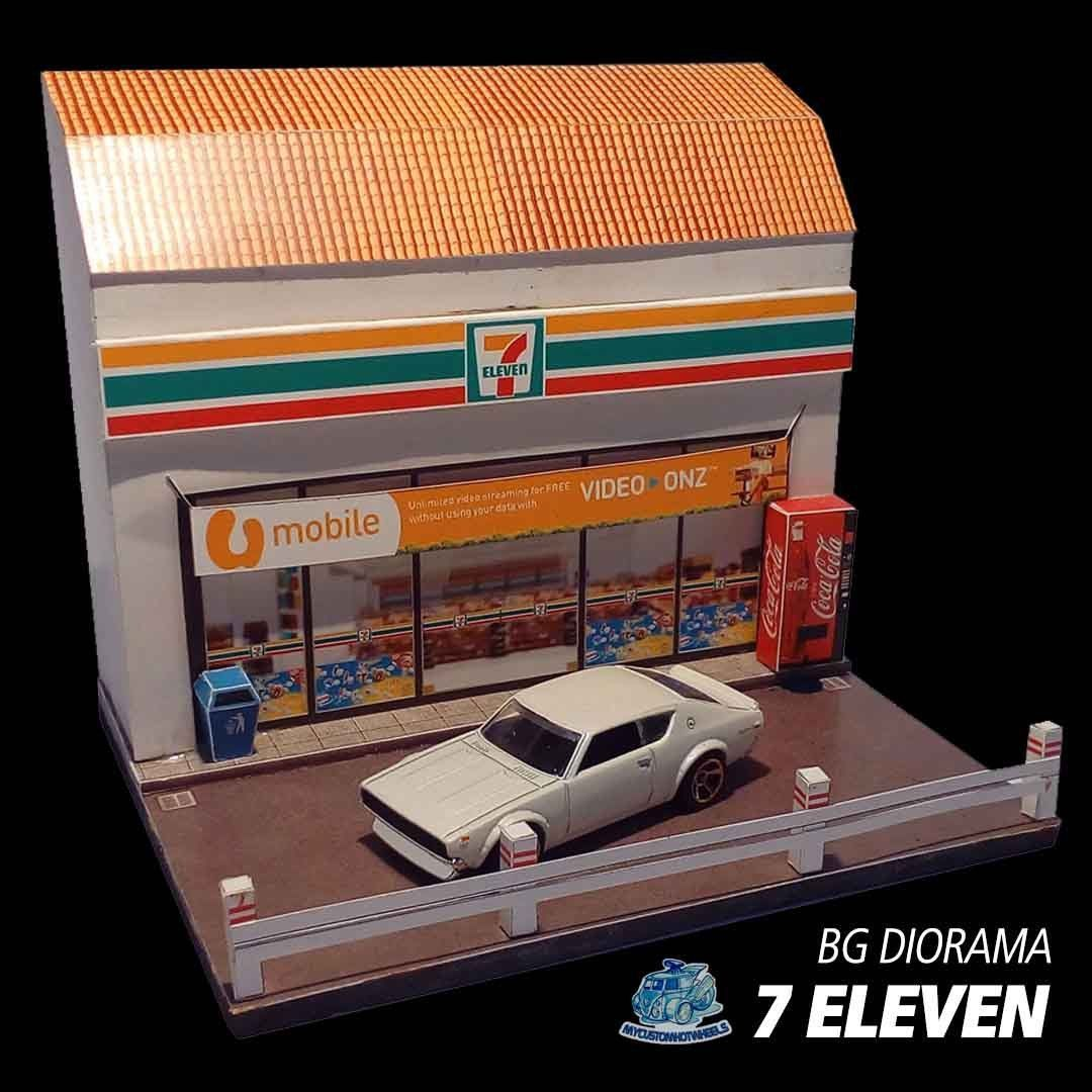 1 64 Diorama Buildings Shops Stores For Hot Wheels 1 64 Scale Diecast Cars Hot Wheels Diorama Diecast Cars