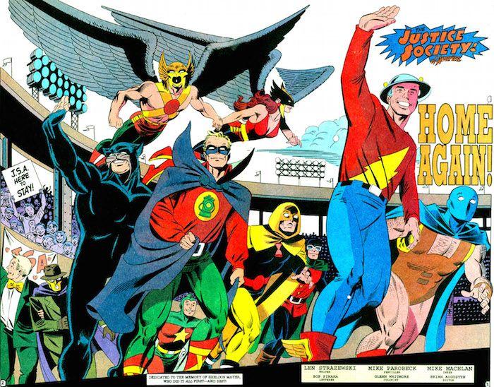 Sociedad De La Justicia De America Anecdotas Y Curiosidades 8 Historietas Superheroes Dc Comics