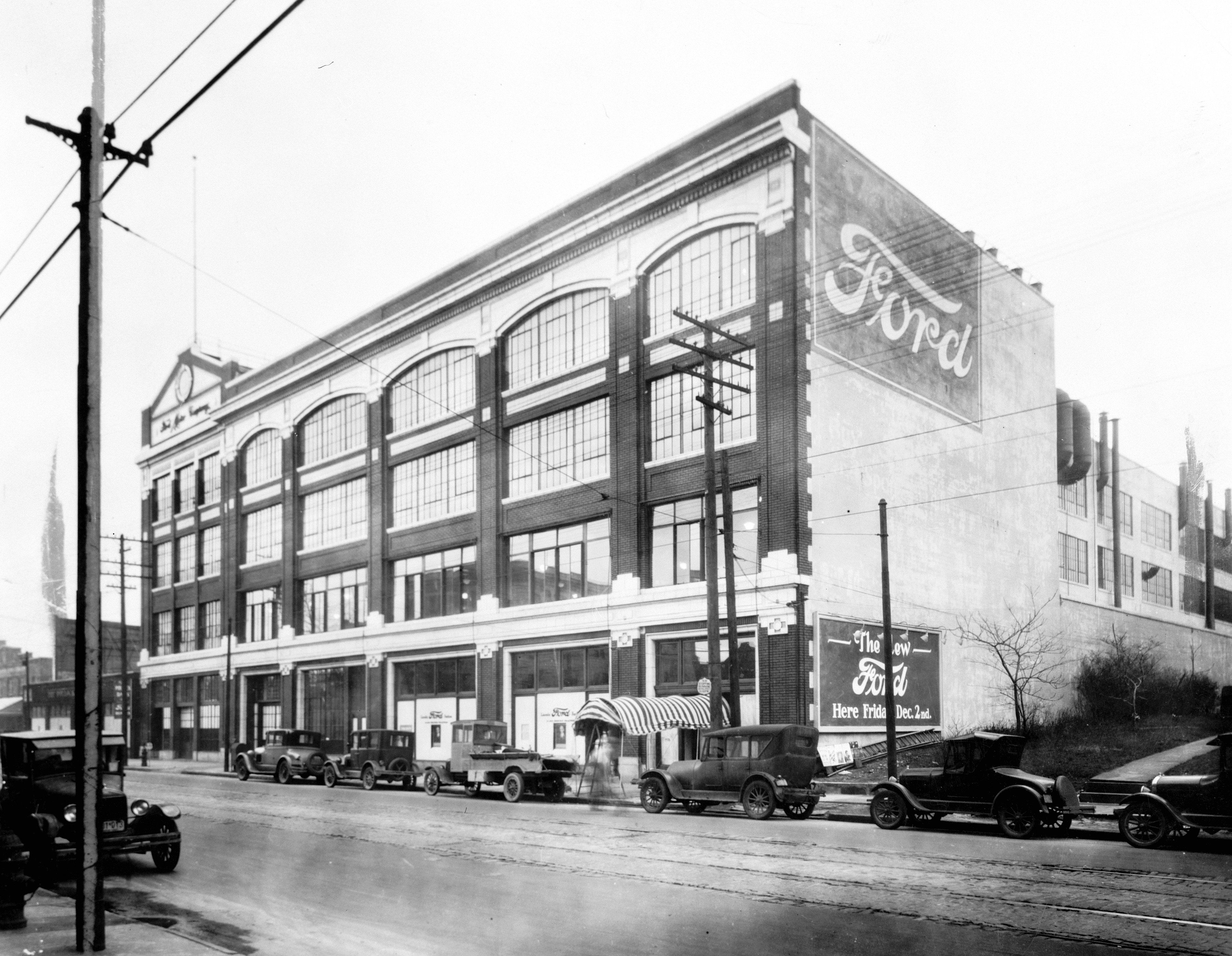 Cleveland S Ford Motor Company Assembly Part In The 1920s Ford