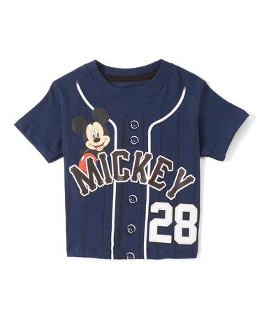 9b8b180a Mickey Mouse Baseball Tee - Toddler by Mickey Mouse & Minnie Mouse  #zulilyfinds